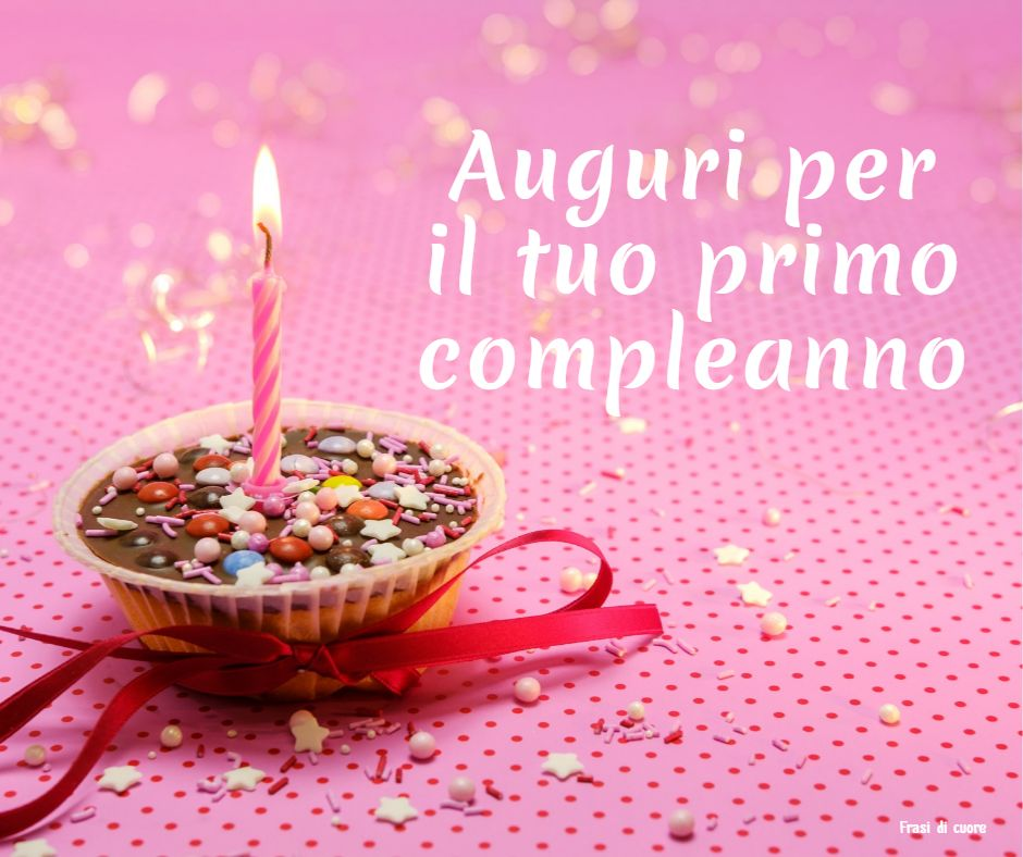 Felice compleanno 1 anno