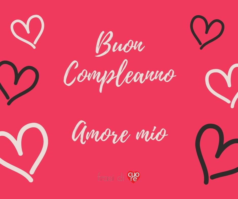Buon Compleanno Amore mio