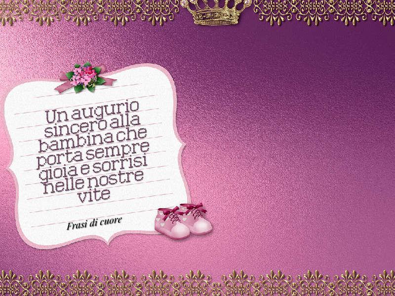 Famoso Frasi auguri di buon compleanno per una bambina | Frasi di cuore NV33